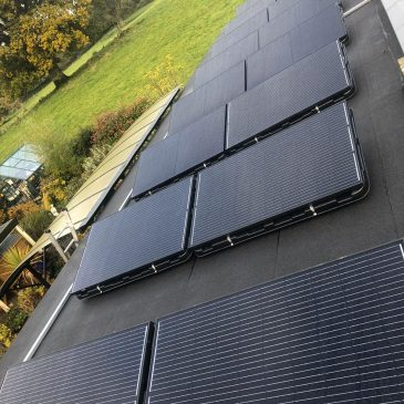 4.8Kw System with 4.8Kw battery storage Co. Meath