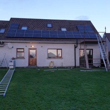 4.5Kw system with 2.4Kw battery storage Co. Cavan