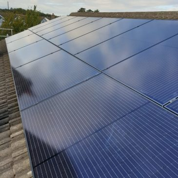 4.9Kw system with 7Kw Zappi EV charger in Co.Dublin