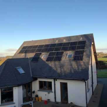 5.4kw system with 4.8kw battery storage Co.Louth